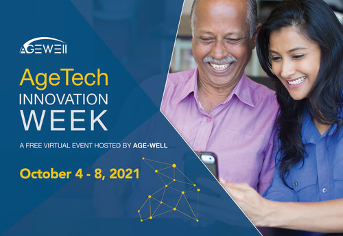 AgeTech Innovation Week will feature curated public panels, workshops, networking opportunities and catalytic conversations that connect people and create change. (CNW Group/AGE-WELL Network of Centres of Excellence (NCE))